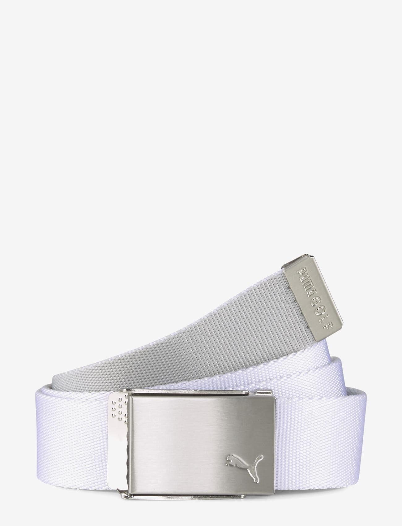 PUMA Golf - Reversible Web Belt - sportbälten - bright white - 1