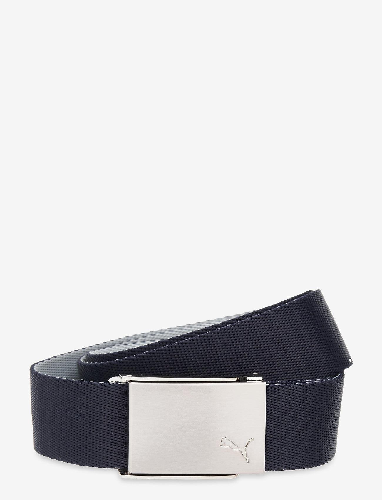 PUMA Golf - Reversible Web Belt - sportbälten - navy blazer - 0