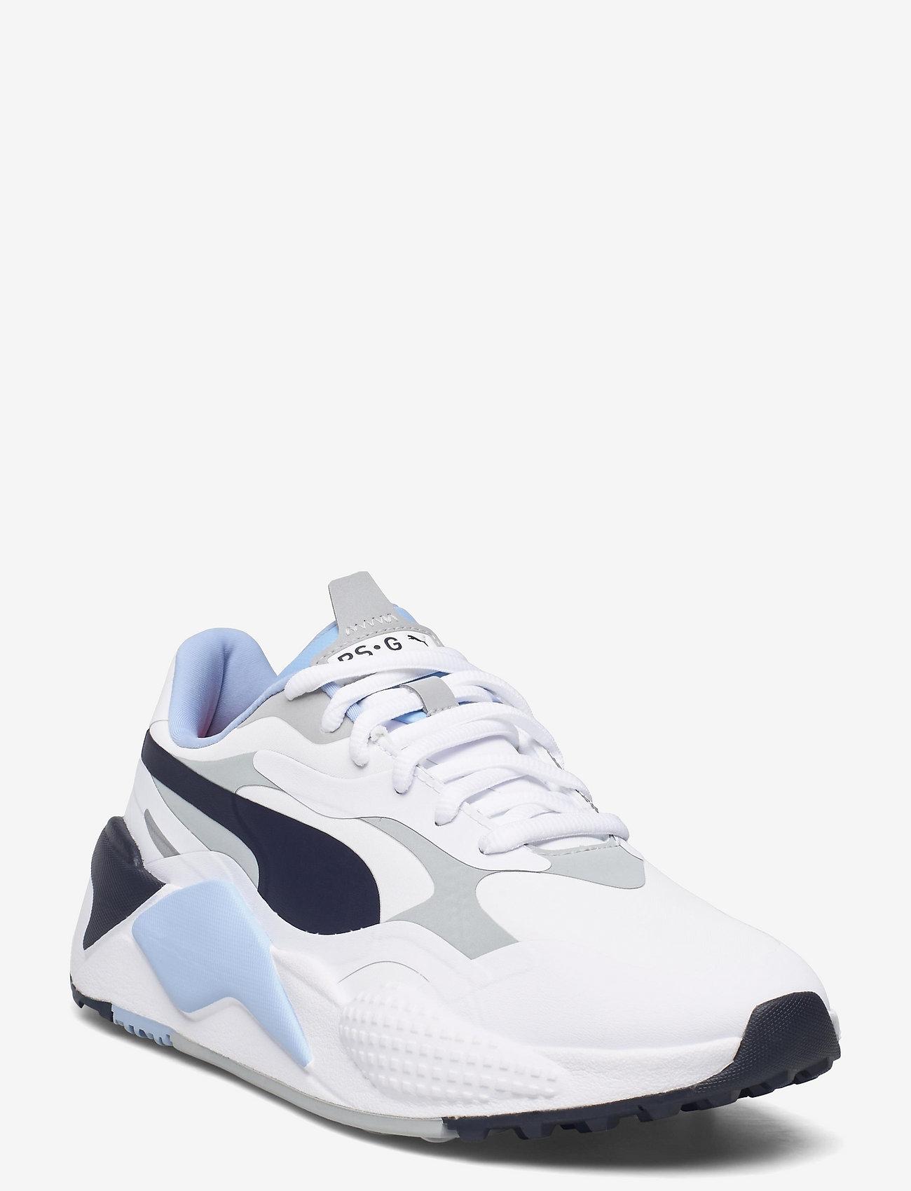 PUMA Golf - RS-G - golfschoenen - puma white-navy blazer-placid blue - 0