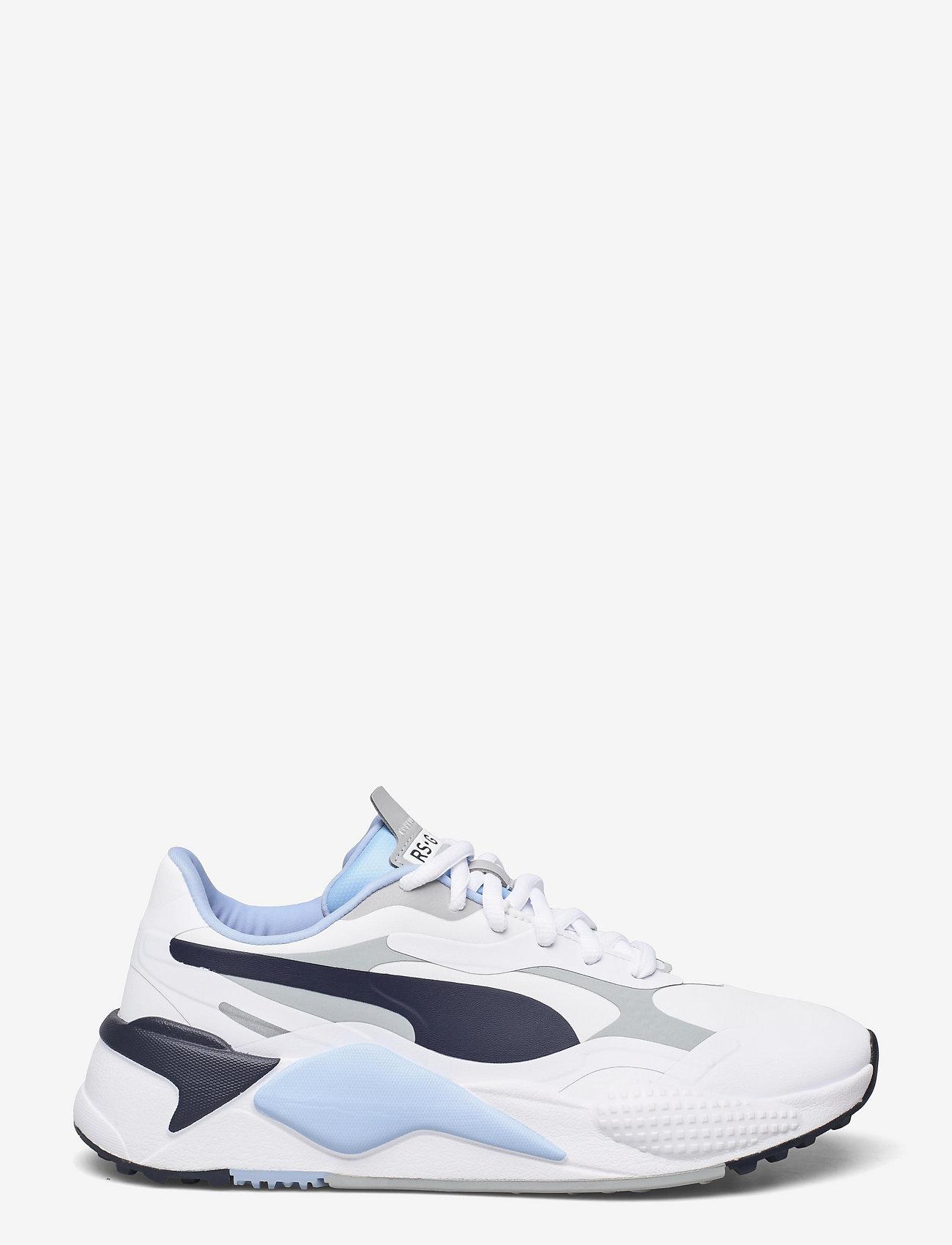 PUMA Golf - RS-G - golfschoenen - puma white-navy blazer-placid blue - 1