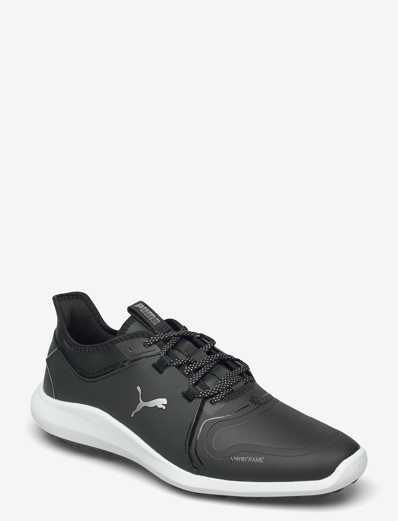 PUMA Golf - IGNITE FASTEN8 Pro - golf shoes - puma black-puma silver-puma black - 1