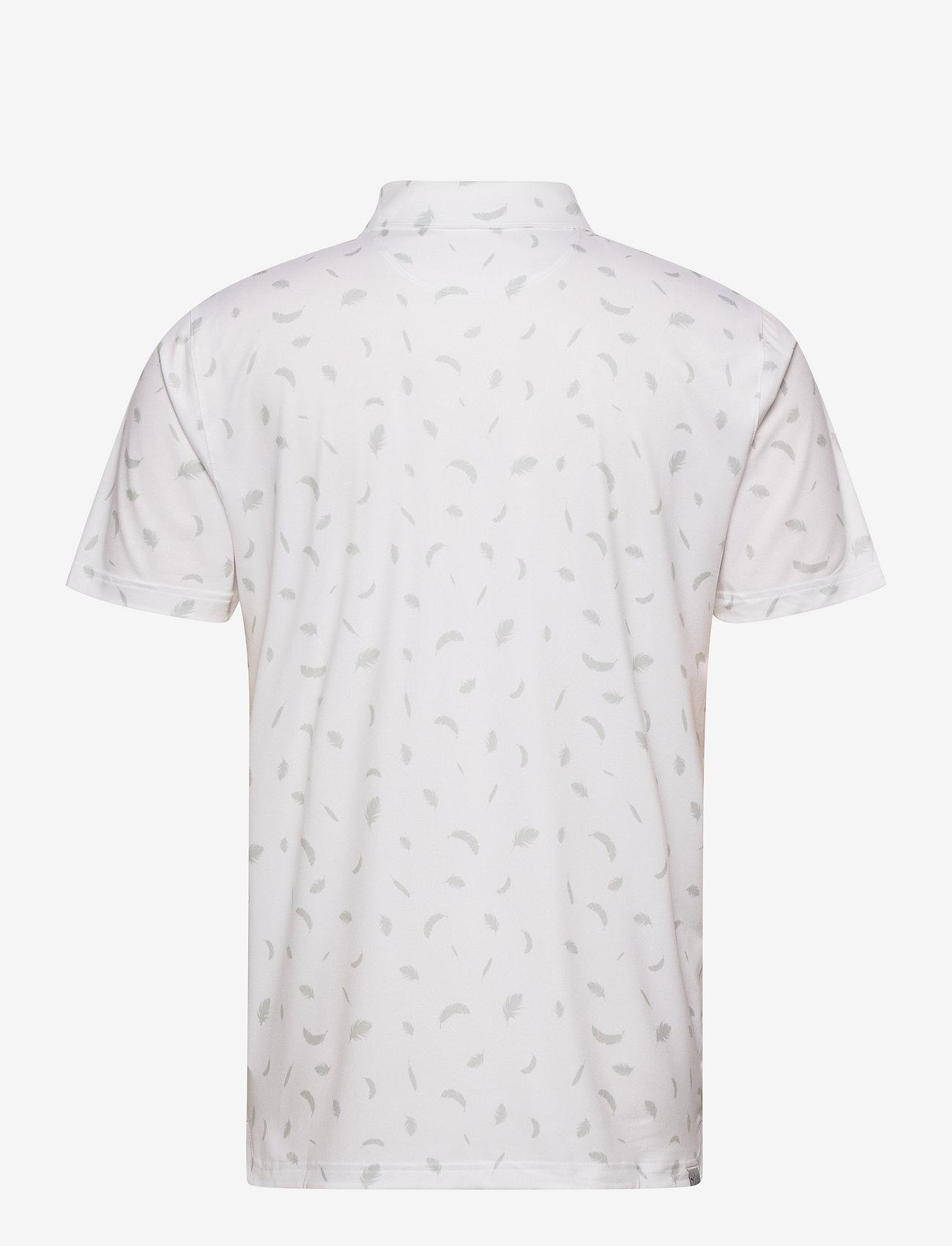 PUMA Golf - Cloudspun Feathers Polo - pikeer - bright white-high rise - 1
