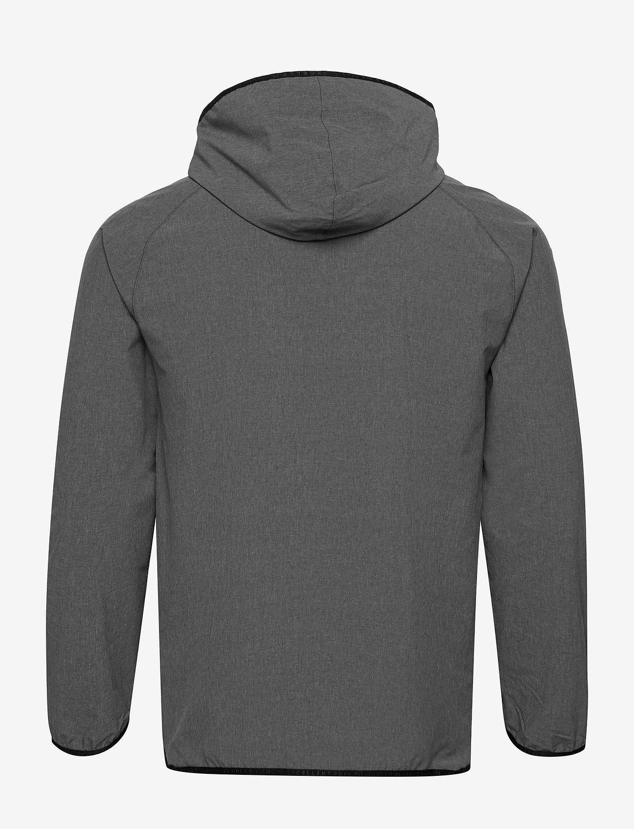 PUMA Golf - EGW Hooded Jacket - golfjackor - puma black heather - 1