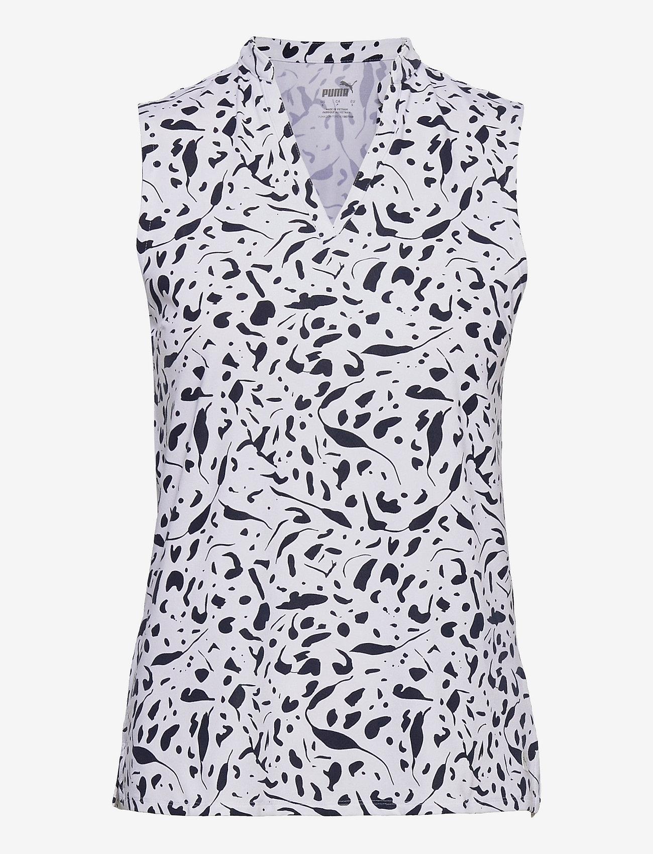 PUMA Golf - W Cloudspun Chelsea SL Polo - blouses zonder mouwen - navy blazer - 0