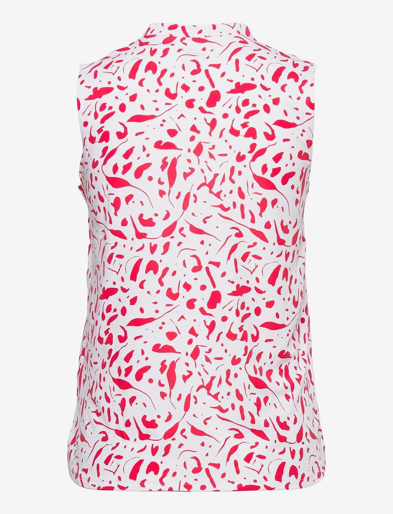 PUMA Golf - W Cloudspun Chelsea SL Polo - blouses zonder mouwen - teaberry - 1