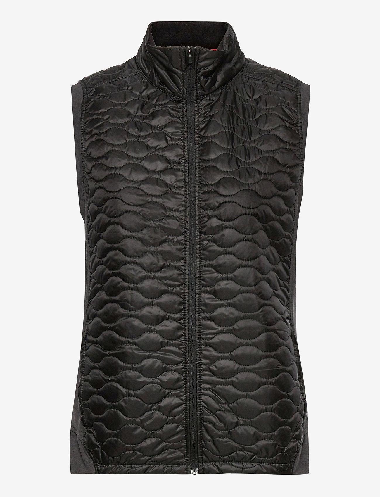 PUMA Golf - W Cloudspun WRMLBL Vest - gevoerde vesten - puma black - 0