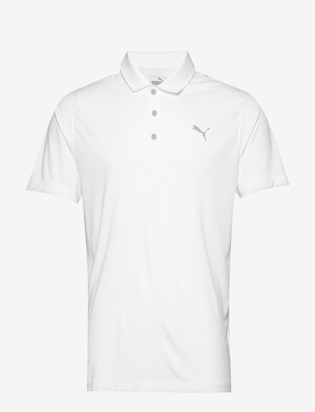 PUMA Golf - Rotation Polo - pikeer - bright white - 0
