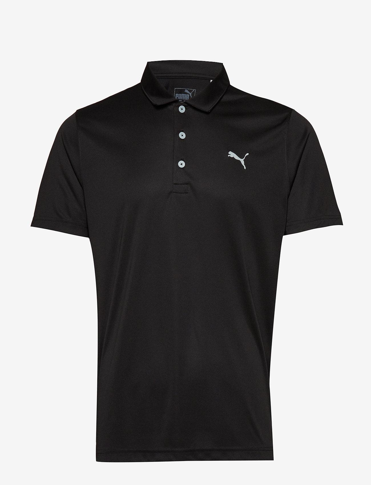 PUMA Golf - Rotation Polo - polos - puma black - 0