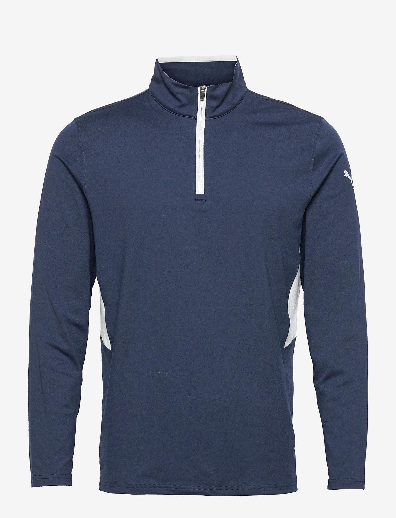 PUMA Golf - Rotation 1/4 Zip - golfjackor - navy blazer - 0