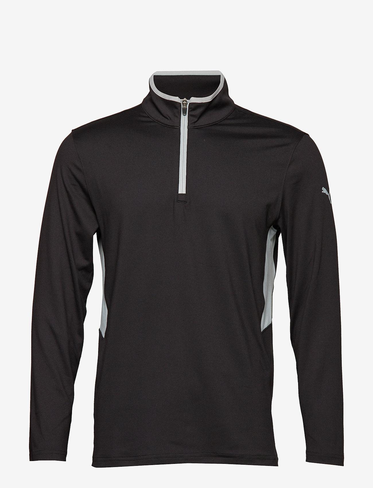 PUMA Golf - Rotation 1/4 Zip - golfjackor - puma black - 0