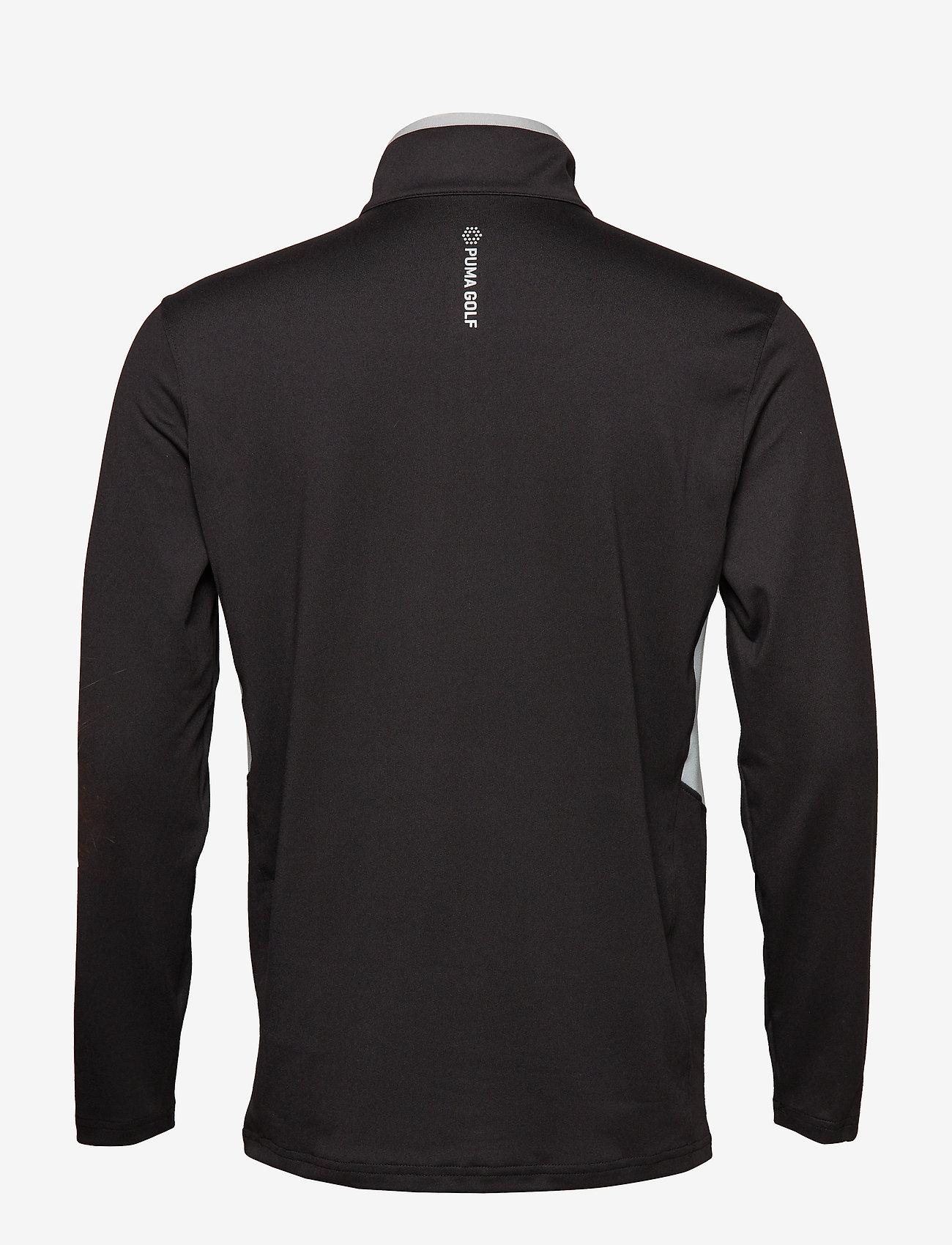 PUMA Golf - Rotation 1/4 Zip - golfjackor - puma black - 1