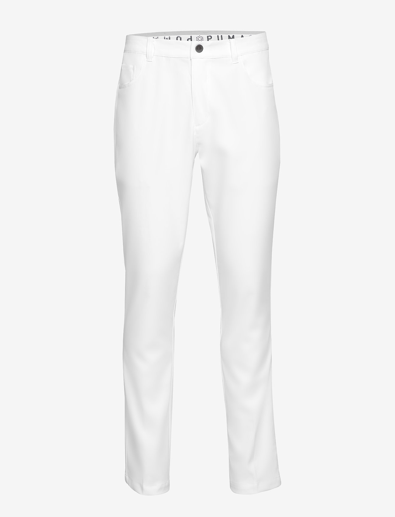 PUMA Golf - Jackpot 5 Pocket Pant - spodnie do golfa - bright white - 0