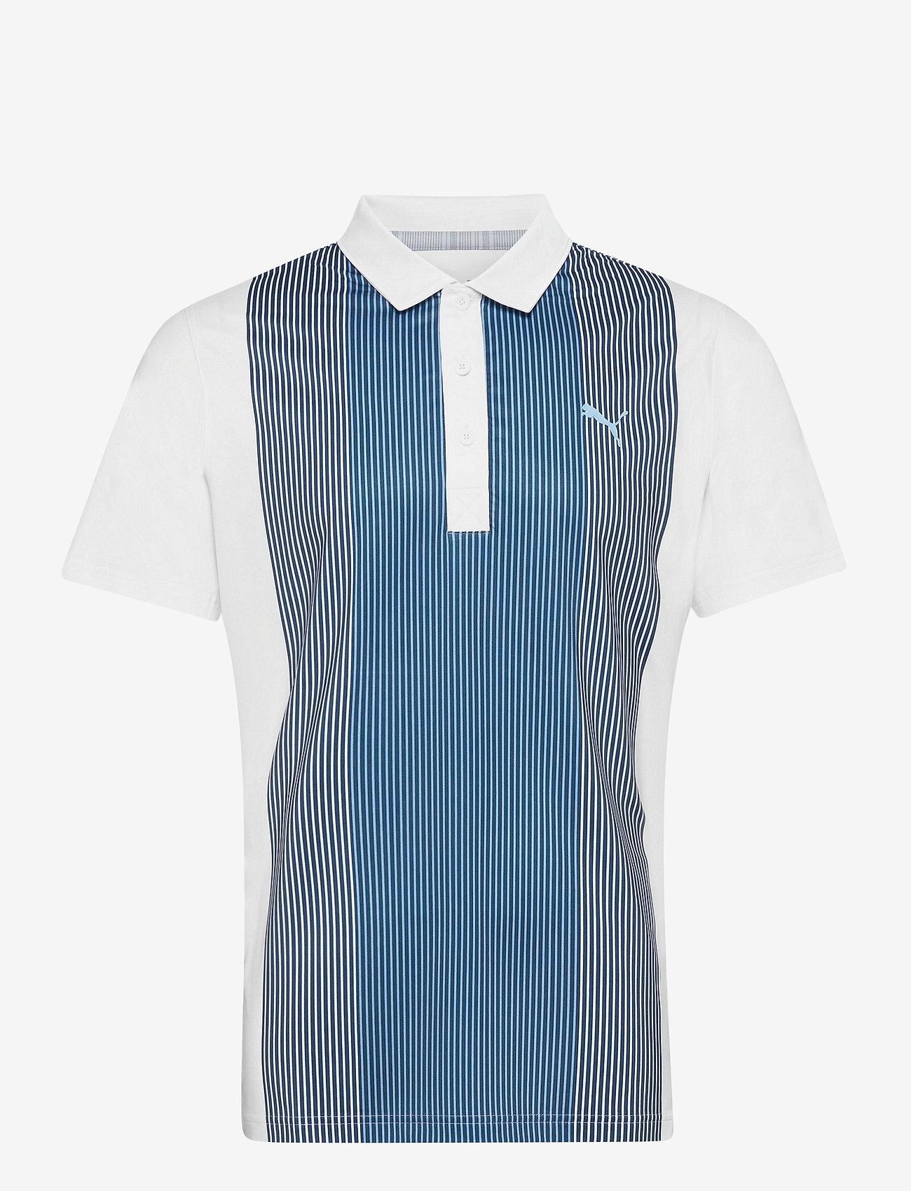 PUMA Golf - Tracks Polo - polos - bright white - 0