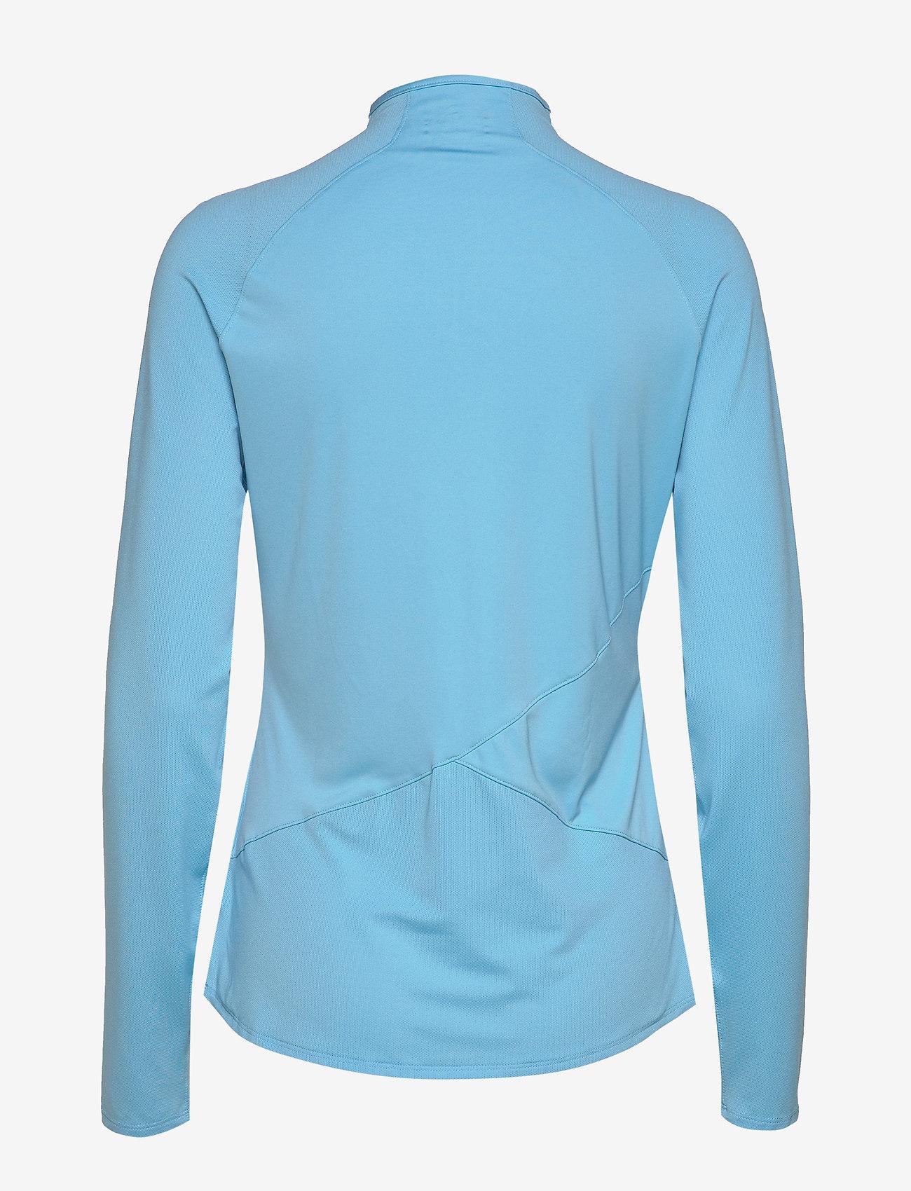 PUMA Golf - W Mesh 1/4 Zip - bluzki z długim rękawem - ethereal blue - 1