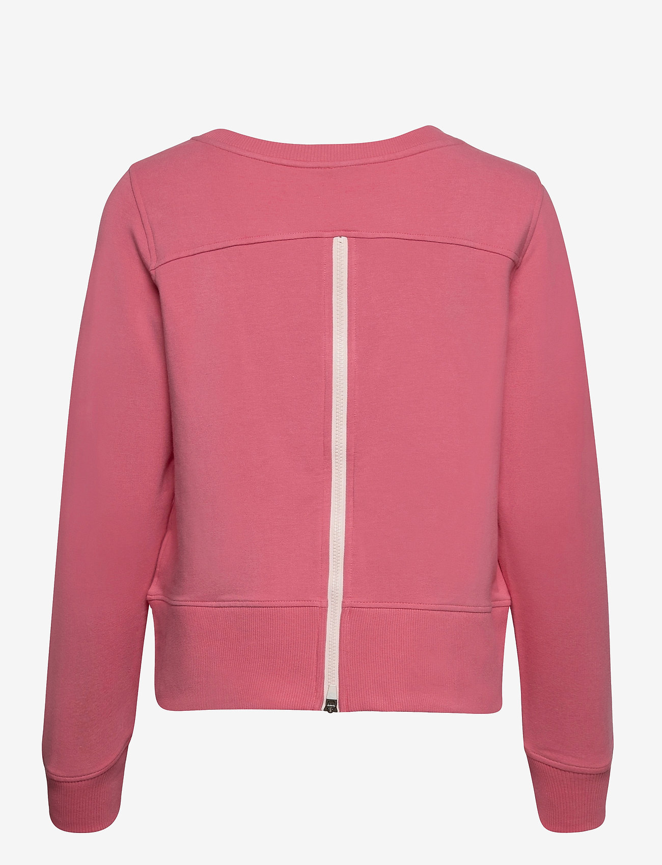 PUMA Golf - W Crewneck Zip Fleece - sweatshirts - rapture rose - 1