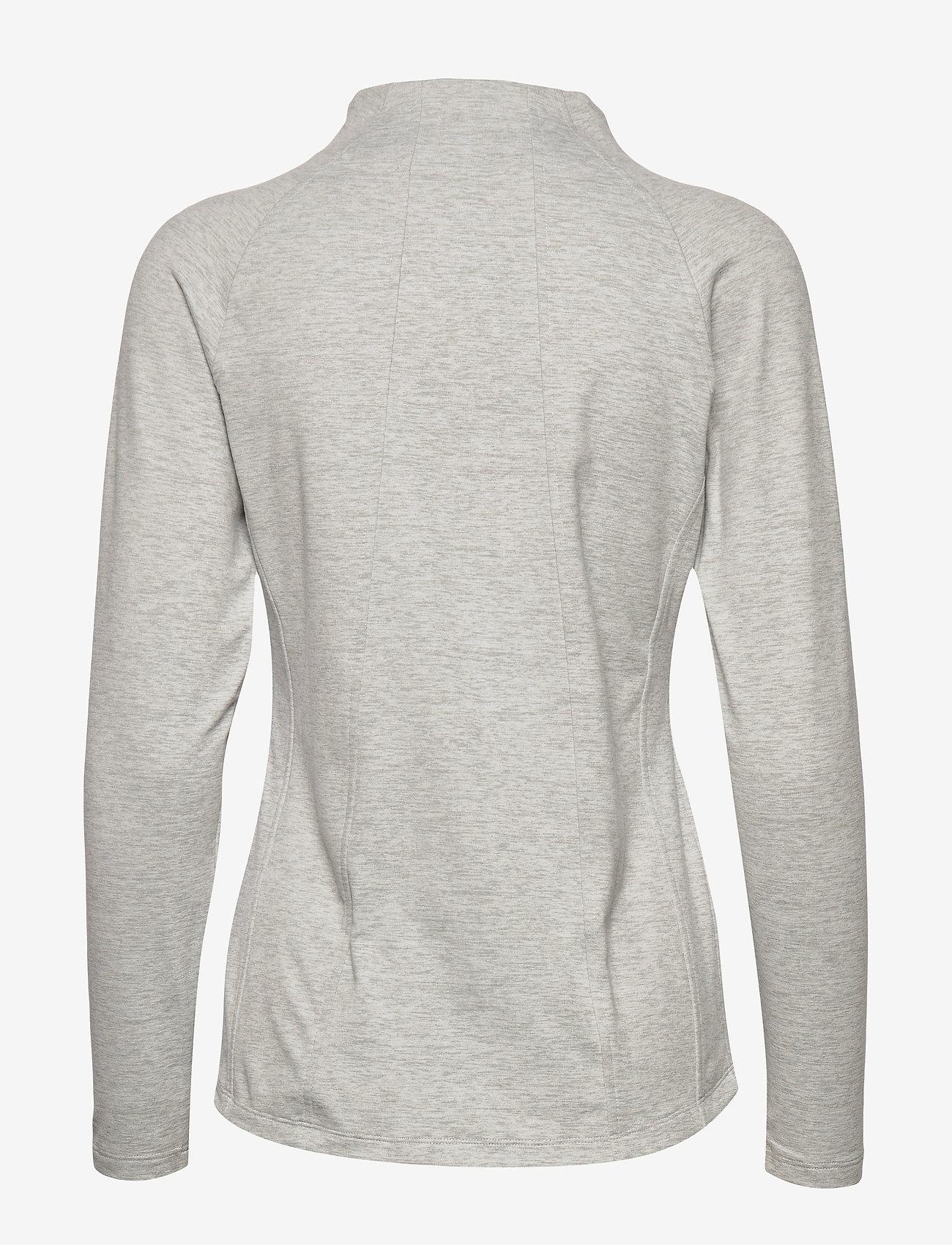 PUMA Golf - Cloudspun W Warm Up Jacket - sweatshirts - quarry heather - 1