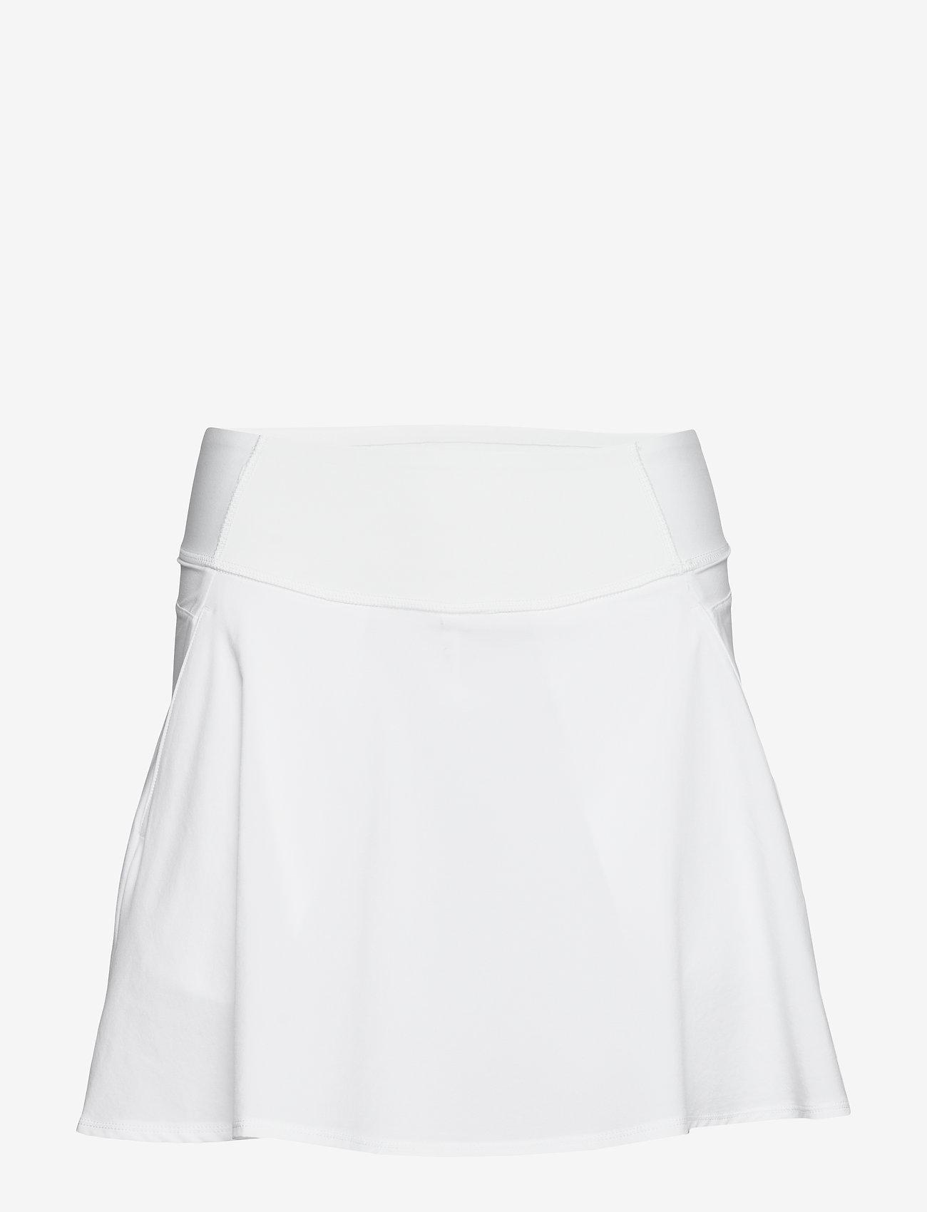 PUMA Golf - PWRSHAPE Solid Woven Skirt - treningsskjørt - bright white - 0