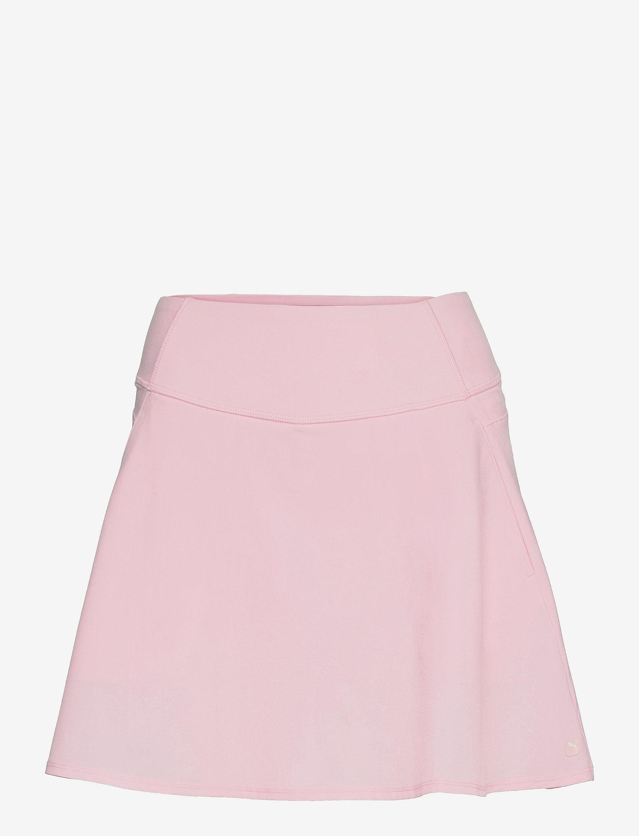PUMA Golf - PWRSHAPE Solid Woven Skirt - rokjes - parfait pink - 0