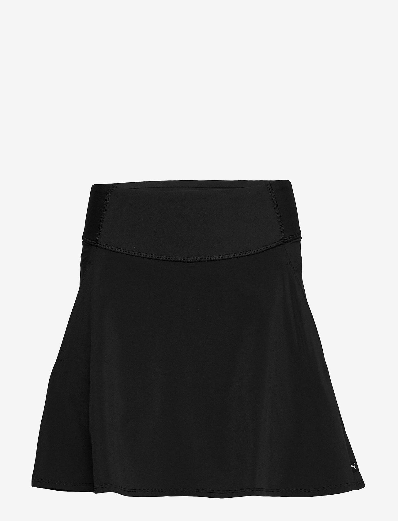 PUMA Golf - PWRSHAPE Solid Woven Skirt - rokjes - puma black - 0