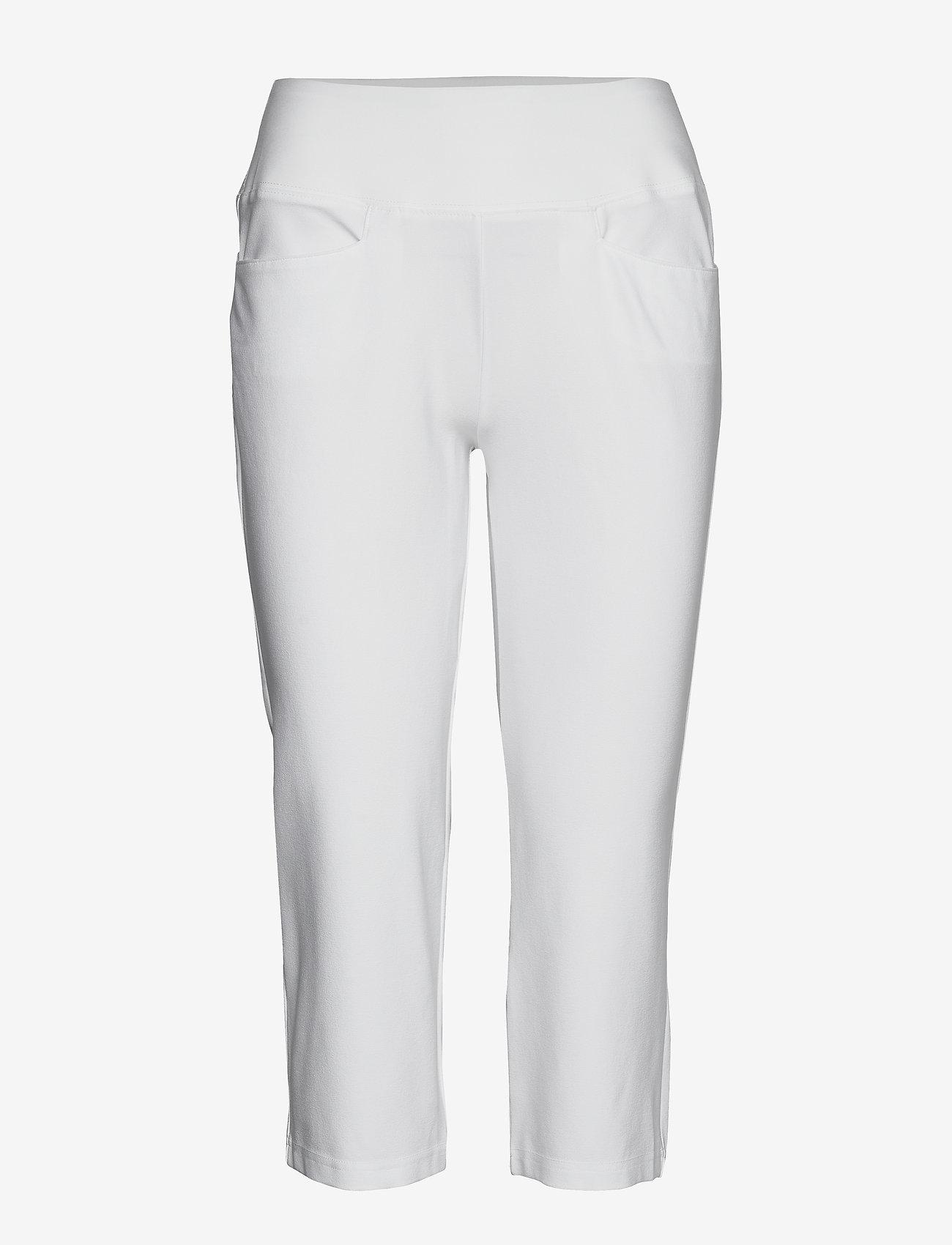PUMA Golf - PWRSHAPE Capri - golfbroeken - bright white - 0