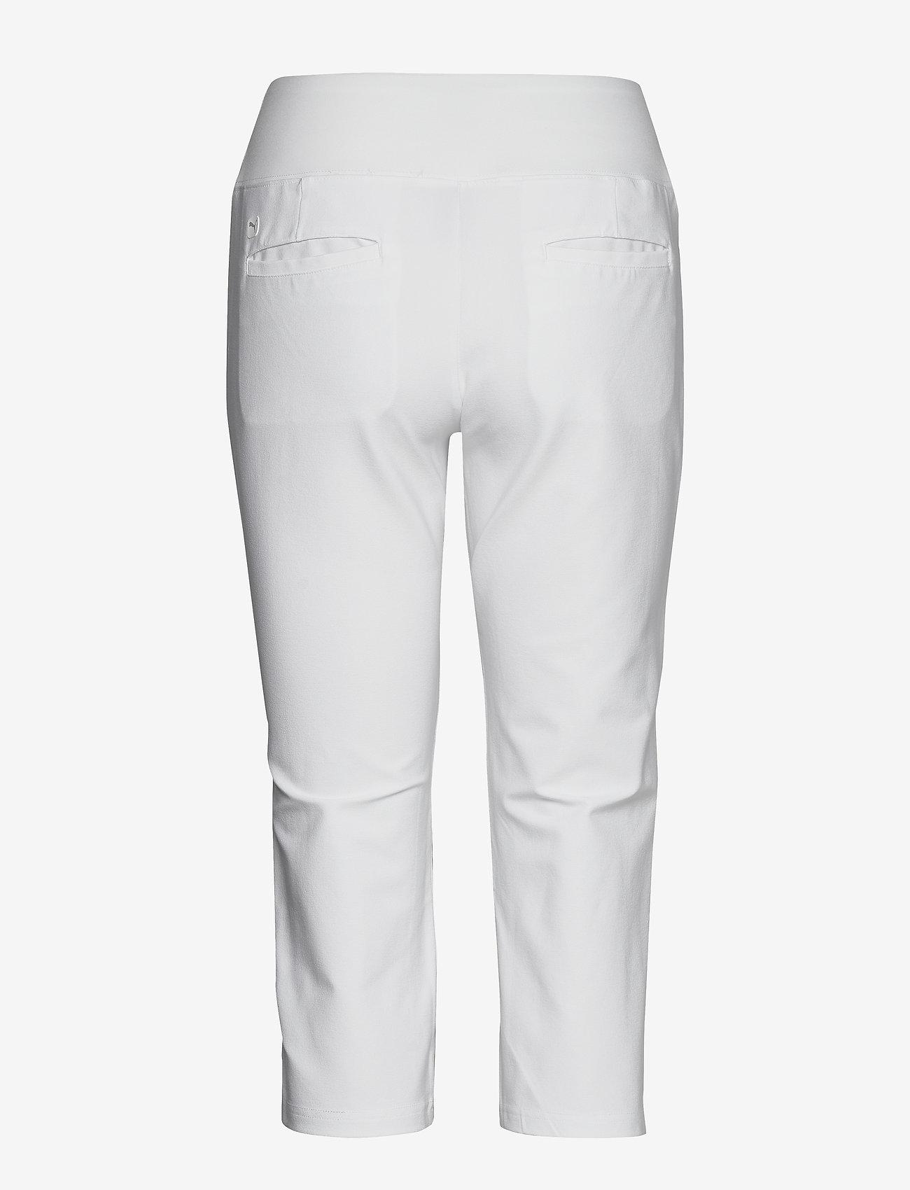 PUMA Golf - PWRSHAPE Capri - golfbroeken - bright white - 1