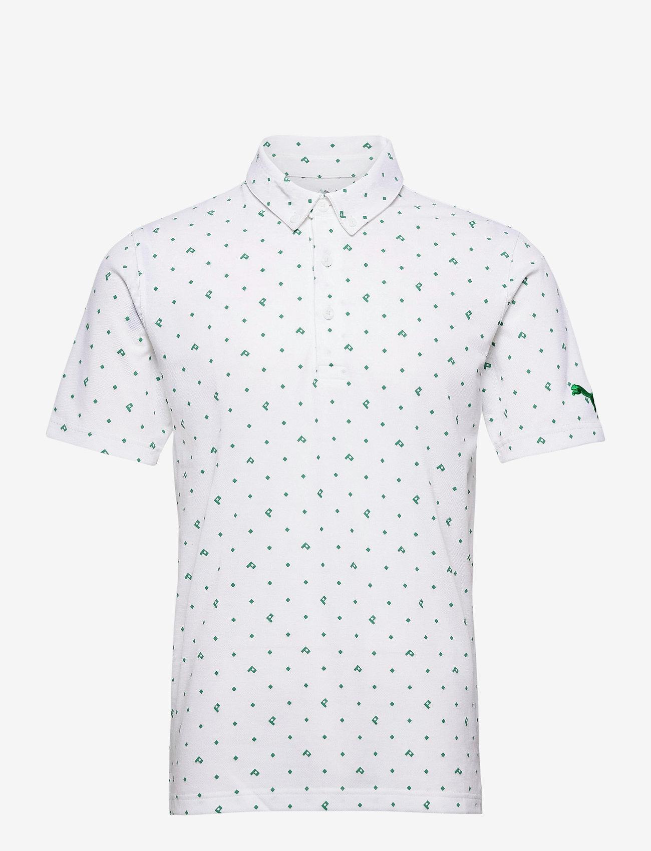 PUMA Golf - Pique P Polo - paidat - amazon green - 0