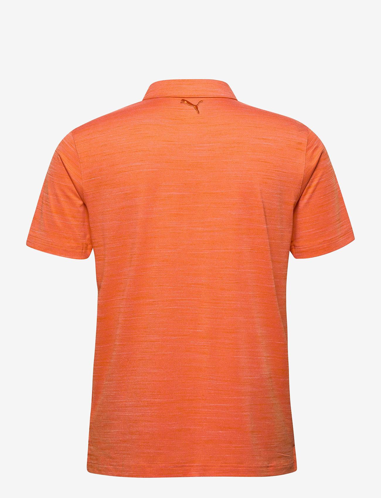 PUMA Golf - Cloudspun Pocket Polo - paidat - pureed pumpkin heather - 1