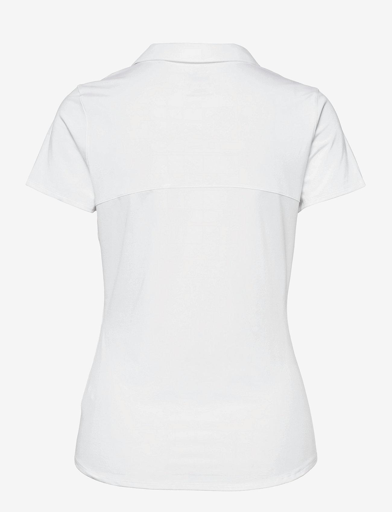 PUMA Golf - Cloudspun Free Polo - polo's - bright white - 1