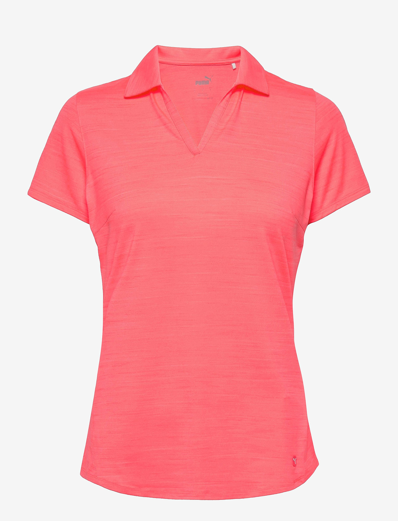 PUMA Golf - Cloudspun Free Polo - polo's - ignite pink heather - 0