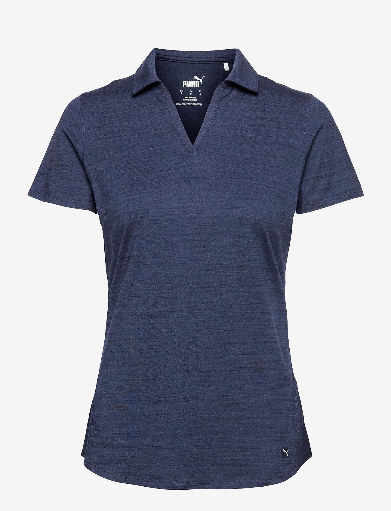 PUMA Golf - Cloudspun Free Polo - polo's - navy blazer heather - 0