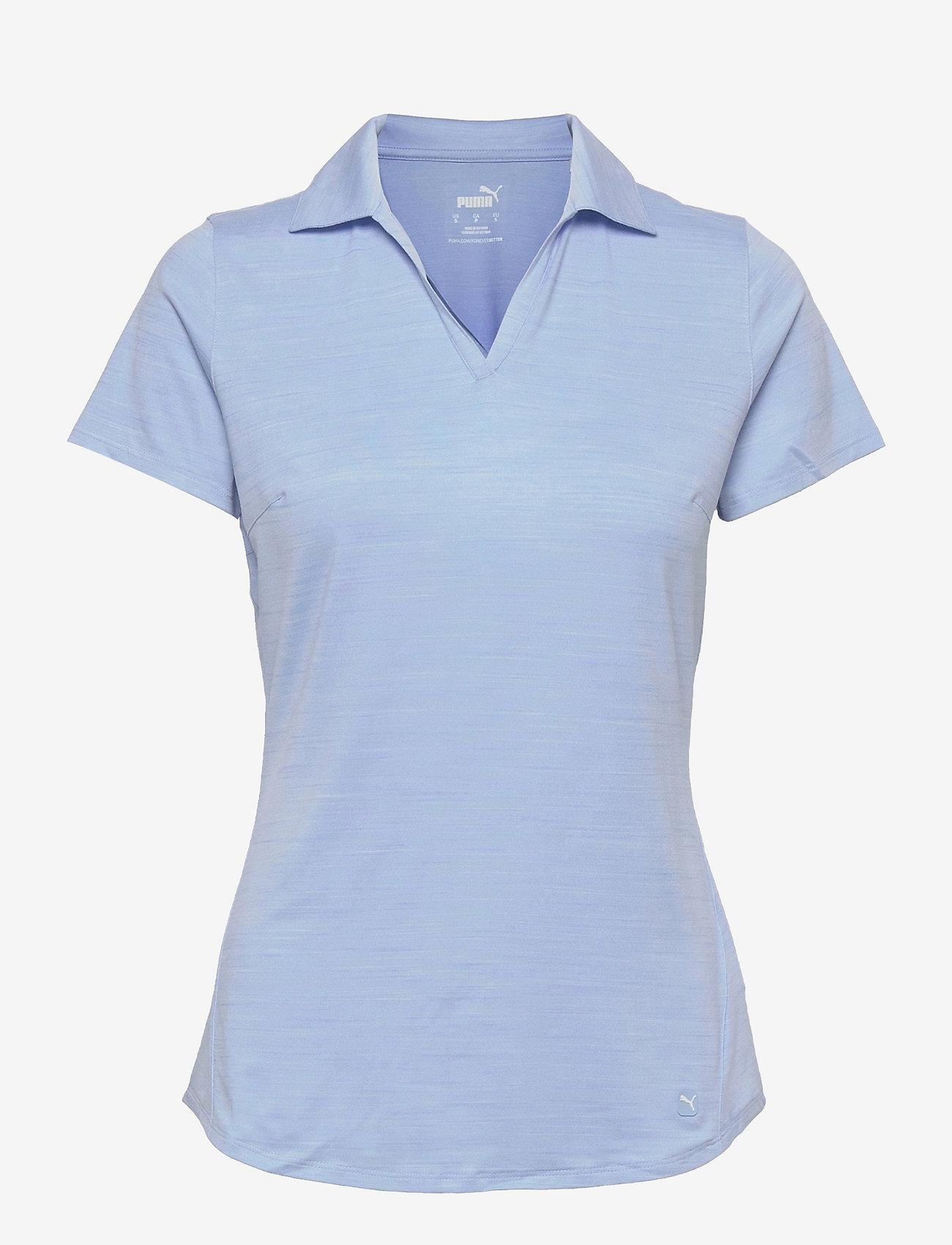 PUMA Golf - Cloudspun Free Polo - polo's - placid blue heather - 0