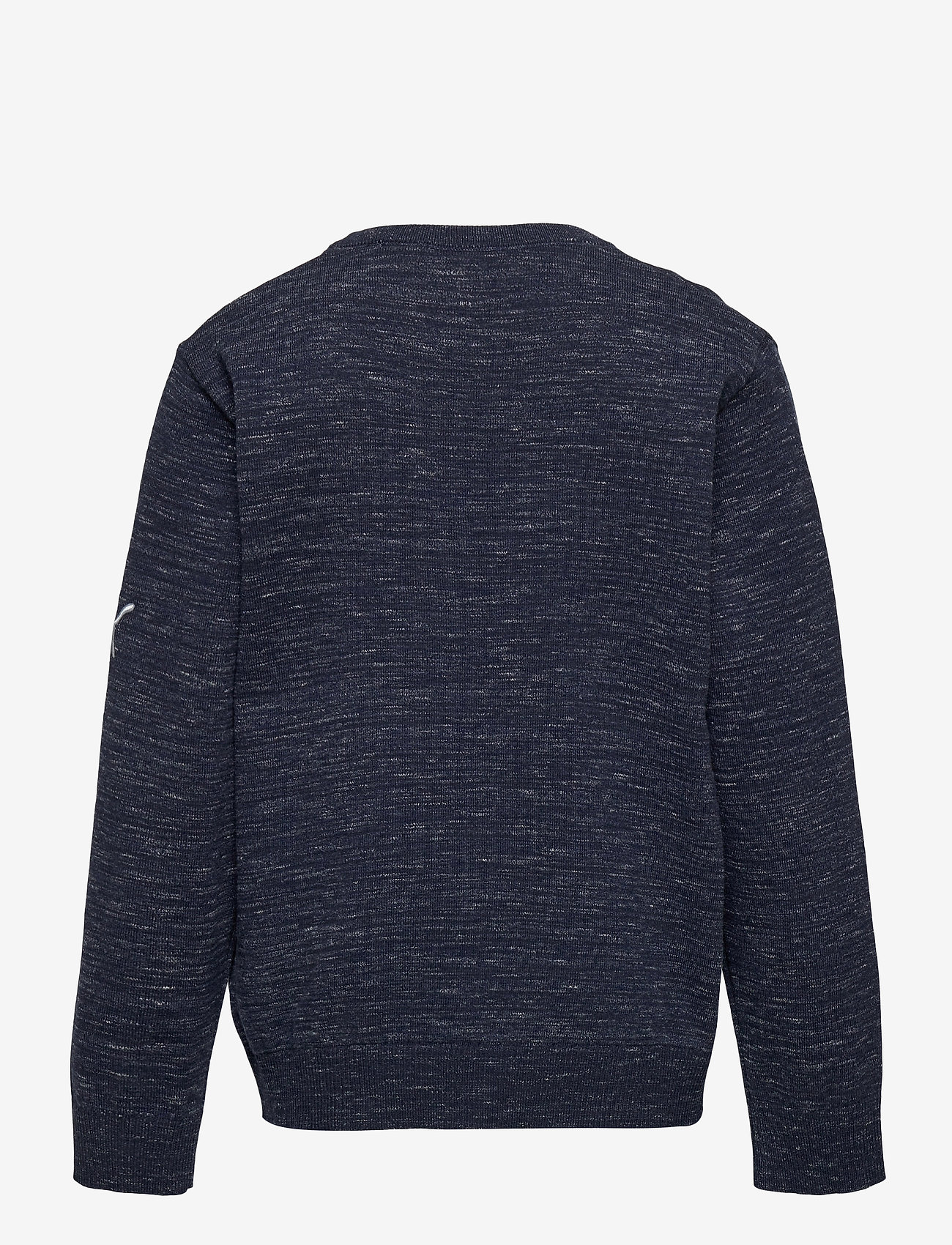 PUMA Golf - Boys Crewneck Sweater - knitwear - peacoat heather - 1