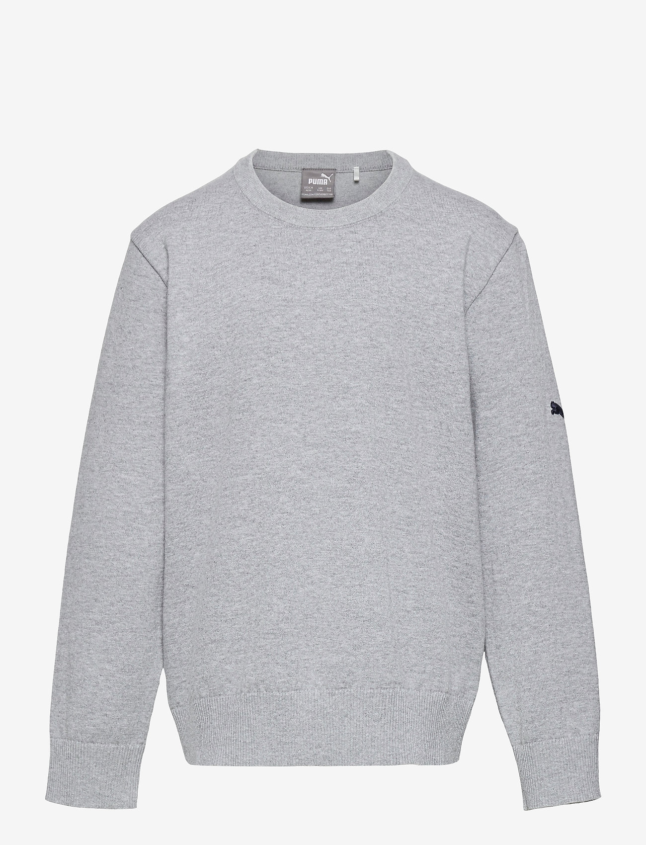 PUMA Golf - Boys Crewneck Sweater - jumpers - quarry heather - 0