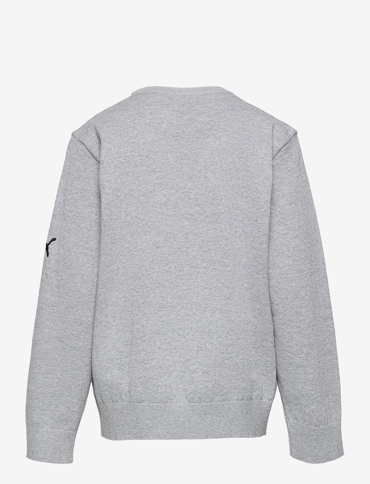 PUMA Golf - Boys Crewneck Sweater - jumpers - quarry heather - 1