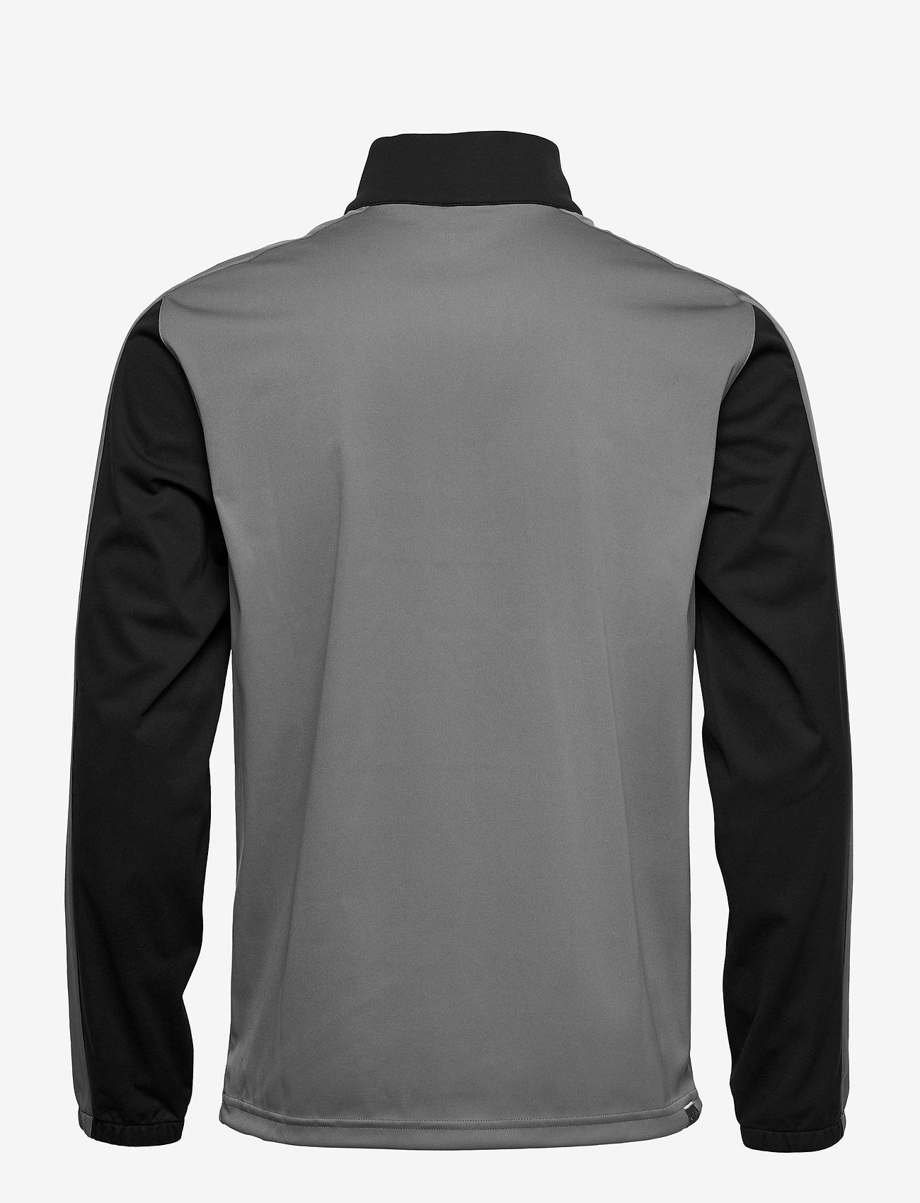 PUMA Golf - Riverwalk Wind Jacket - golf jackets - puma black-quiet shade - 1