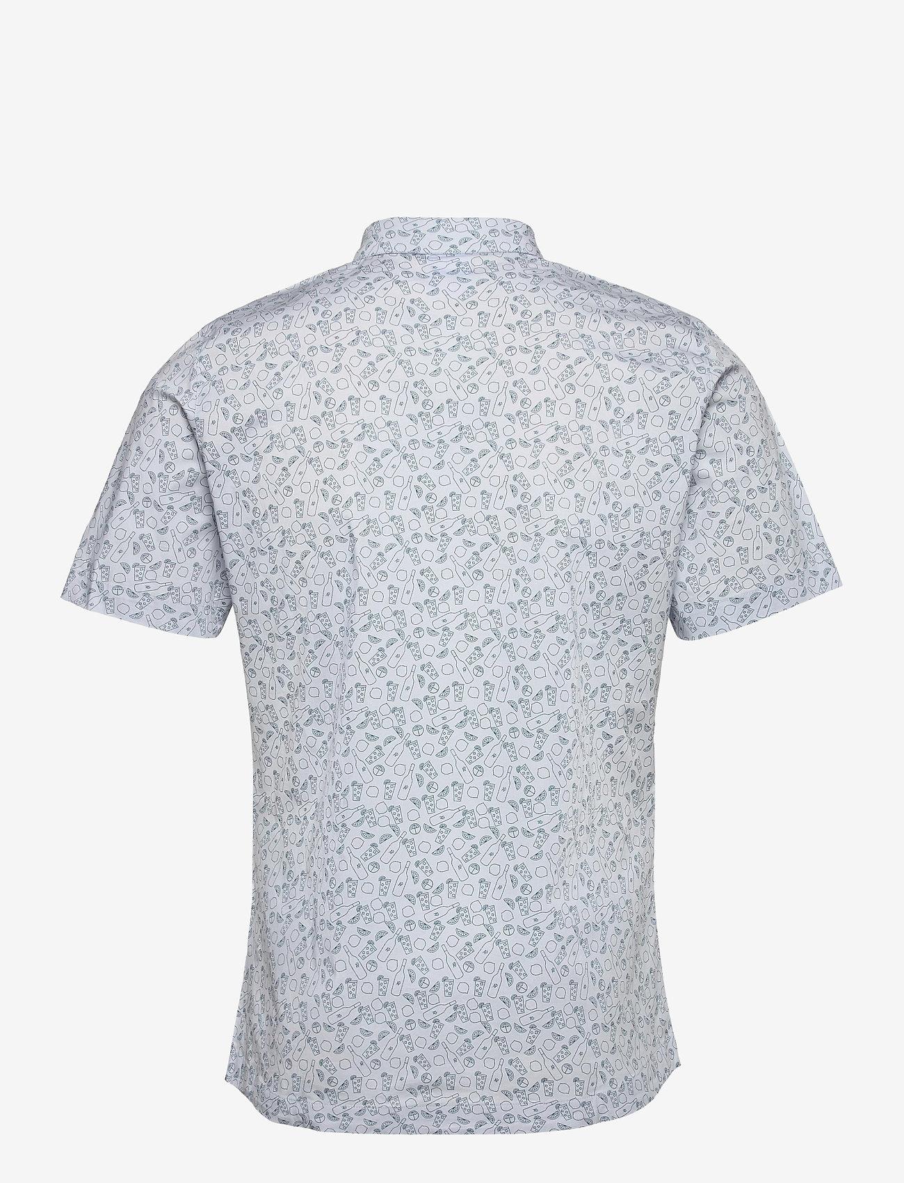 PUMA Golf - AP 19th Hole Button Down - short-sleeved shirts - halogen blue - 1