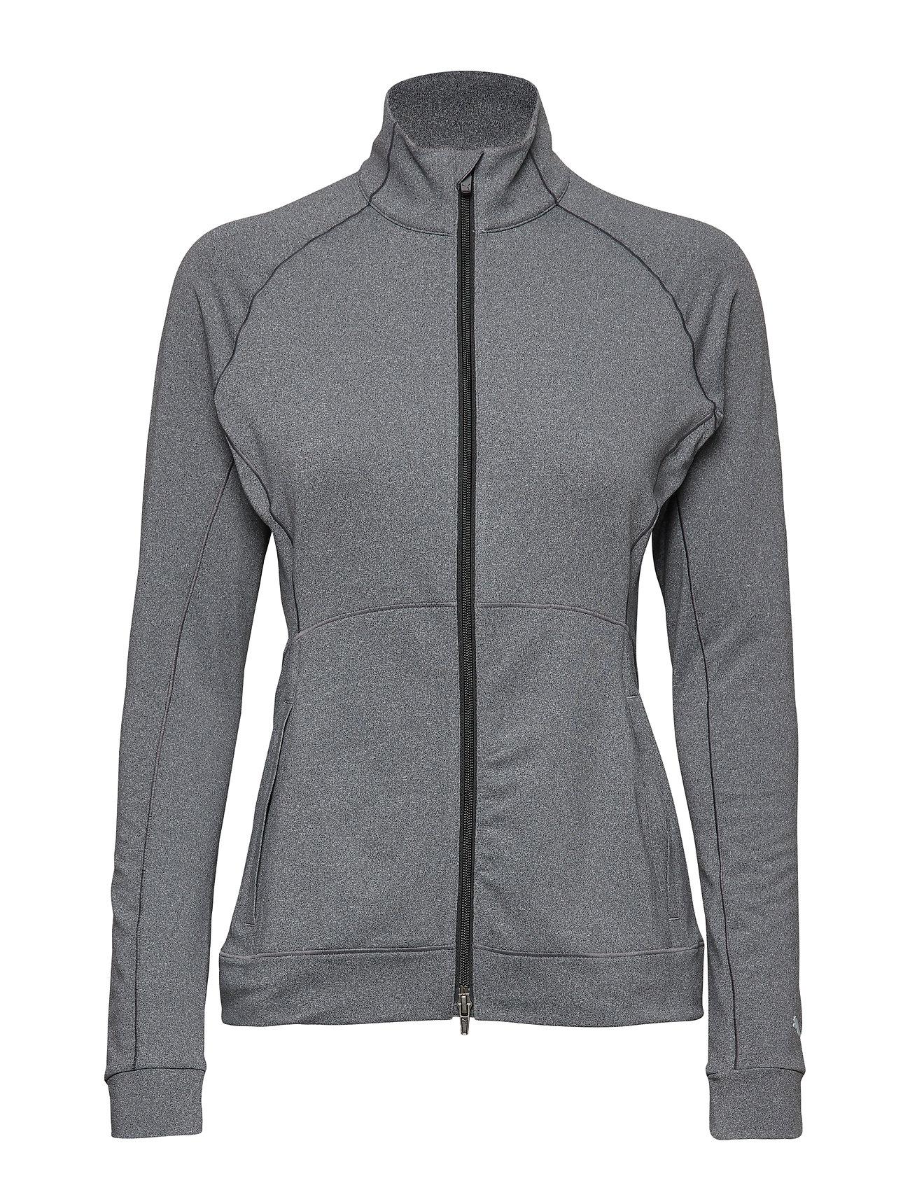 PUMA W Vented Jacket Sweat-shirt Pullover Grau PUMA GOLF