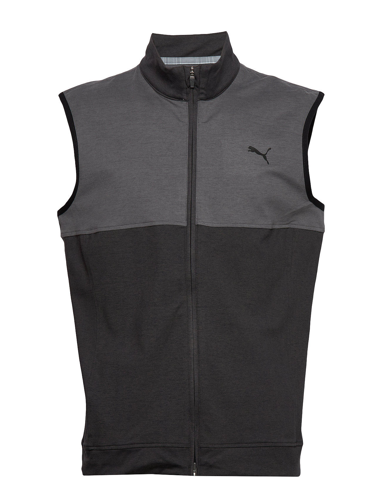 PUMA Golf Cloudspun Warm Up Vest - PUMA BLACK-QUIET SHADE