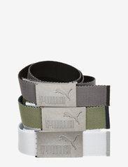 PUMA Golf - 6 Pack Web Belt - sportriemen - puma black-bright white - 2