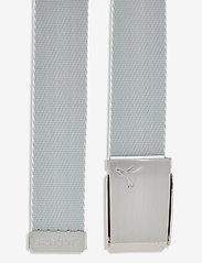 PUMA Golf - Reversible Web Belt - sportbälten - bright white - 3