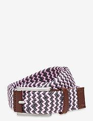 PUMA Golf - X Weave Belt '21 - sport belts - quiet shade - 0