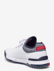 PUMA Golf - PROADAPT ALPHACAT - golf shoes - puma white-navy blazer-high risk re - 2