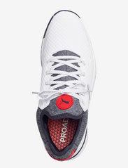 PUMA Golf - PROADAPT ALPHACAT - golf shoes - puma white-navy blazer-high risk re - 3