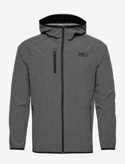 PUMA Golf - EGW Hooded Jacket - golfjackor - puma black heather - 0