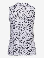 PUMA Golf - W Cloudspun Chelsea SL Polo - blouses zonder mouwen - navy blazer - 1