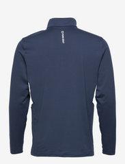 PUMA Golf - Rotation 1/4 Zip - golfjackor - navy blazer - 1