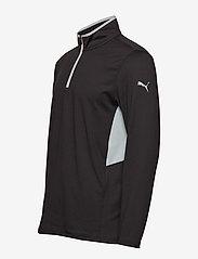 PUMA Golf - Rotation 1/4 Zip - golfjackor - puma black - 2