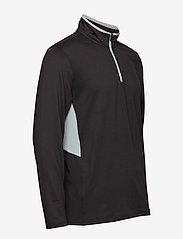 PUMA Golf - Rotation 1/4 Zip - golfjackor - puma black - 3