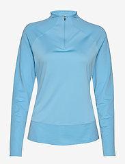 PUMA Golf - W Mesh 1/4 Zip - bluzki z długim rękawem - ethereal blue - 0