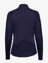 PUMA Golf - W Mesh 1/4 Zip - topjes met lange mouwen - peacoat - 1